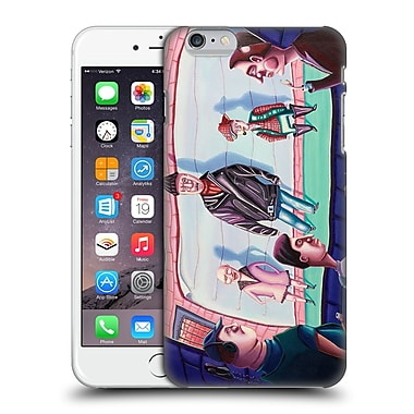Official Rock Demarco Illustrations Book Em' Attempted Murder Hard Back Case For Apple Iphone 6 Plus / 6S Plus
