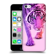 Official Paul Fuentes Animals 2 Colour Tiger Hard Back Case For Apple Iphone 5C