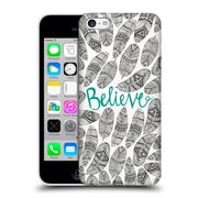 Official Pom Graphic Design Typography Believe Hard Back Case For Apple Iphone 5C