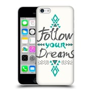 Official Pom Graphic Design Typography Follow Your Dreams Hard Back Case For Apple Iphone 5C