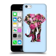 Official Paul Fuentes Animals 2 Floral Elephant Hard Back Case For Apple Iphone 5C
