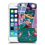 Official Rock Demarco Illustrations The Accidental Creation Of Miniature Golf Hard Back Case For Apple Iphone 5 / 5S / Se