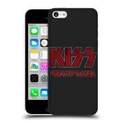 Official Kiss Albums Dressed To Kill Logo Hard Back Case For Apple Iphone 5C