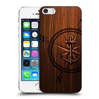 Official Nicklas Gustafsson Textures Wooden Anchor Hard Back Case For Apple Iphone 5 / 5S / Se
