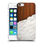 Official Nicklas Gustafsson Textures Wooden Crumpled Paper Hard Back Case For Apple Iphone 5 / 5S / Se