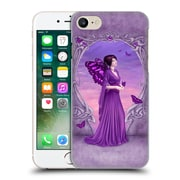 Official Rachel Anderson Birth Stone Fairies Amethyst Hard Back Case For Apple Iphone 7