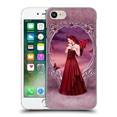 Official Rachel Anderson Birth Stone Fairies Garnet Hard Back Case For Apple Iphone 7