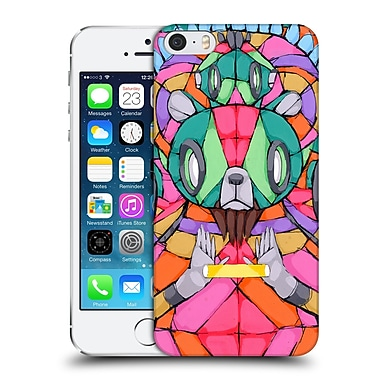 Official Ric Stultz Robotic Animals Colour And Light From His Hands Hard Back Case For Apple Iphone 5 / 5S / Se