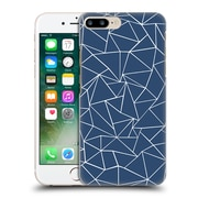 Official Project M Abstract Outline Navy Hard Back Case For Apple Iphone 7 Plus