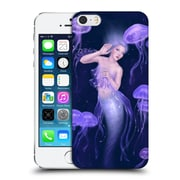 Official Rachel Anderson Mermaids Bioluminescence Hard Back Case For Apple Iphone 5 / 5S / Se