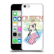 Official Queen Key Art Vintage Tour Hard Back Case For Apple Iphone 5C