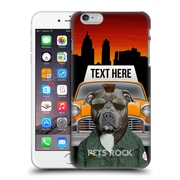 Custom Customised Personalised Pets Rock Custom Case Cabbie Hard Back Case For Apple Iphone 6 Plus / 6S Plus