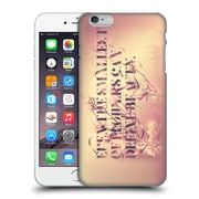 """Official Pete """"Aeiko"""" Harrison Typography Even The Smallest Of Flowers Hard Back Case For Apple Iphone 6 Plus / 6S Plus"""
