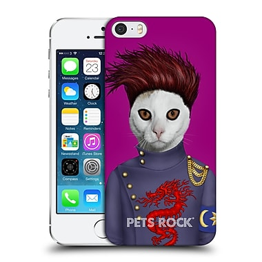 Official Pets Rock Musicians Bcat Hard Back Case For Apple Iphone 5 / 5S / Se