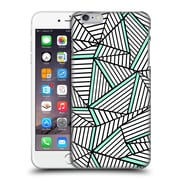 Official Project M Abstract Lines Two Tone White Mint Hard Back Case For Apple Iphone 6 Plus / 6S Plus