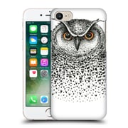 Official Kristina Kvilis Birds Owl 2 Hard Back Case For Apple Iphone 7