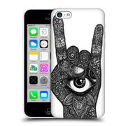 Official Joel Gratte Black And White Rocker Hard Back Case For Apple Iphone 5C