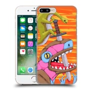 Official Ric Stultz Dinosaur Coming Out On Top Hard Back Case For Apple Iphone 7 Plus