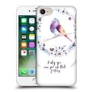Official Kristina Kvilis Birds Only You Can Give Me That Feeling Hard Back Case For Apple Iphone 7