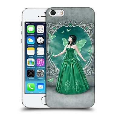 Official Rachel Anderson Birth Stone Fairies Emerald Hard Back Case For Apple Iphone 5 / 5S / Se