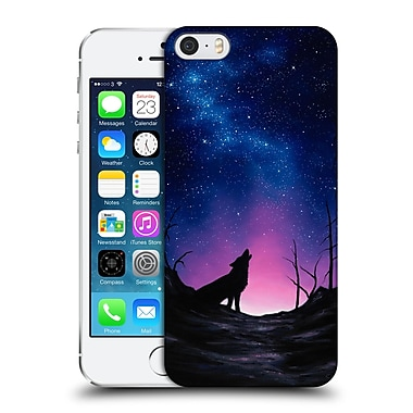 Official Chuck Black Canine Starry Nights Hard Back Case For Apple Iphone 5 / 5S / Se