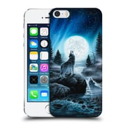 Official Chuck Black Canine Spirits Of The Wild Hard Back Case For Apple Iphone 5 / 5S / Se