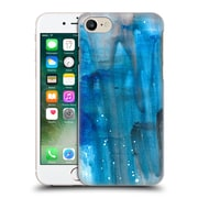 """Official Julien """"Corsac"""" Missaire Abstract 3 Marbled Paint Blue Flow Hard Back Case For Apple Iphone 7"""
