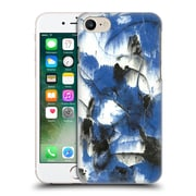 """Official Julien """"Corsac"""" Missaire Abstract 3 Marbled Paint Blue Black Hard Back Case For Apple Iphone 7"""