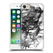 "Official Julien ""Corsac"" Missaire Abstract 3 Marbled Paint Black White Hard Back Case For Apple Iphone 7"