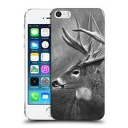 Official Chuck Black Deer Family Rainy Days Hard Back Case For Apple Iphone 5 / 5S / Se