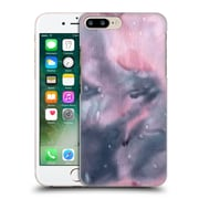 """Official Julien """"Corsac"""" Missaire Abstract Marbled Milk Black Pink Hard Back Case For Apple Iphone 7 Plus"""