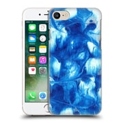 """Official Julien """"Corsac"""" Missaire Abstract 3 Marbled Paint Blue White Hard Back Case For Apple Iphone 7"""