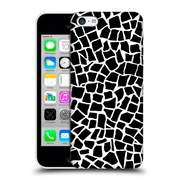 Official Project M British Mosaic Black Hard Back Case For Apple Iphone 5C