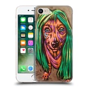 Official Rock Demarco Animals Lady Bark Bark Hard Back Case For Apple Iphone 7