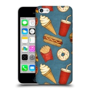 Official Tracie Andrews Patterns Fast Food Hard Back Case For Apple Iphone 5C