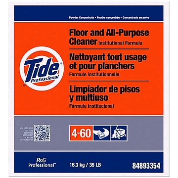 Tide® Floor and All-Purpose Cleaners, Unscented, 36 lb. Box (PGC02364)