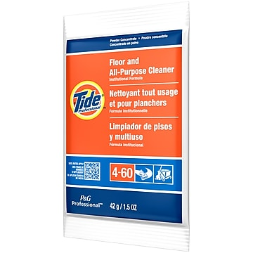 Tide Floor And All-Purpose Cleaner, 1.5 oz. Packets, 100/Carton (2370)