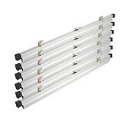 "Brookside Design 24"" Heavy Duty Hanging Print Clamps, Aluminum, 6/Set (PC624)"