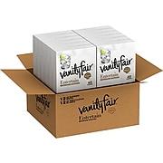 Vanity Fair Entertain Beverage Napkin, 2-Ply, White, 40/Pack, 12 Packs/Carton (35134/18)