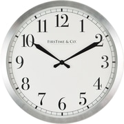 "FirsTime 15.75"" Soho Steel Wall Clock (31019)"