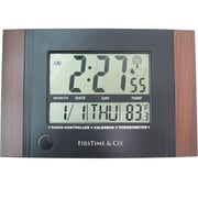 "FirsTime 11"" x 7.5"" Executive Digital Tabletop Clock (31022)"
