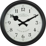 "FirsTime 16"" Avalon Whisper Wall Clock (31020)"