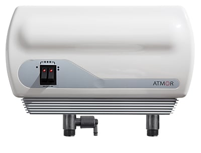 ATMOR 8.5kW/240-Volt 1.23 GPM Electric Tankless Water Heater with Pressure Relief Device, On demand Water Heater, (AT-900-08)