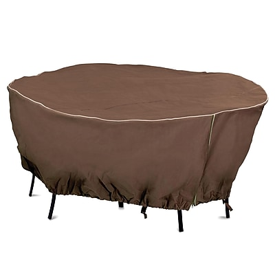 Armor All Zip It! Round Patio Set Cover, 80