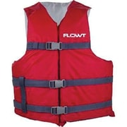 Waterbrands All Purpose Adult Life Vest, Red (40202-UNV)