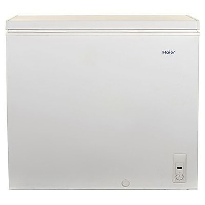 Haier HF71CM33NW 7.1 cu. ft. Manual Defrost Chest Freezer, White