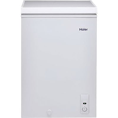 Haier HFC3501ACW 3.5 cu. ft. Manual Defrost Chest Freezer, White