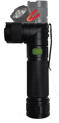Blackfire Twist Aluminum LED Tactical Flashlight (BBM980G)