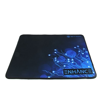 ENHANCE GX-MP1 Extended Gaming Mouse Pad Blue, Precision Tracking Surface Non-Slip Base and Anti-Fray Stitching (ENGXMP1100BLEW)