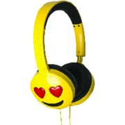 HMDX Audio Jamoji Headphones, Love Struck (HX-HPEM03)